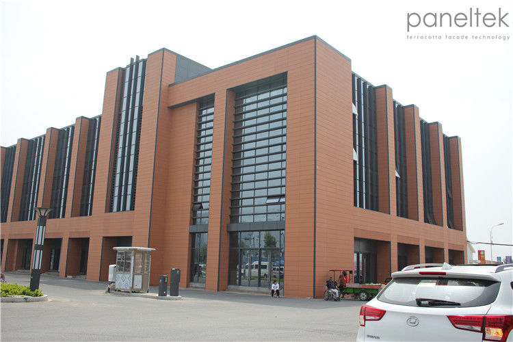 Wall Cladding Material Terracotta Cladding Facade Panels Long Last Color